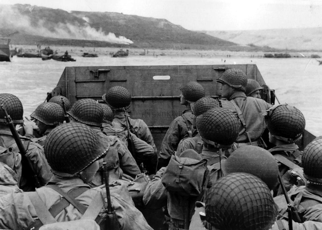American Troops during the Normandy Invasion, June 1944