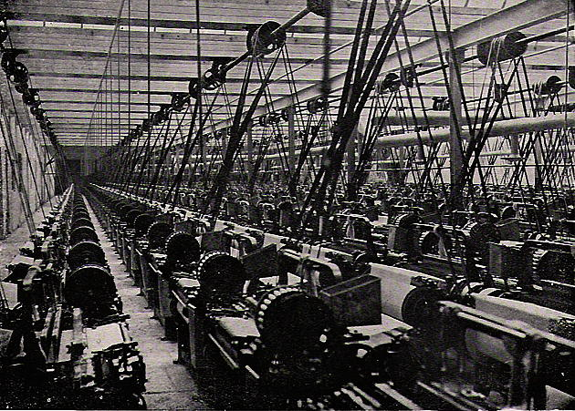 Industrial Revolution Mills The Cotton Industry an...