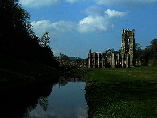 Fountains Abbey Monastery