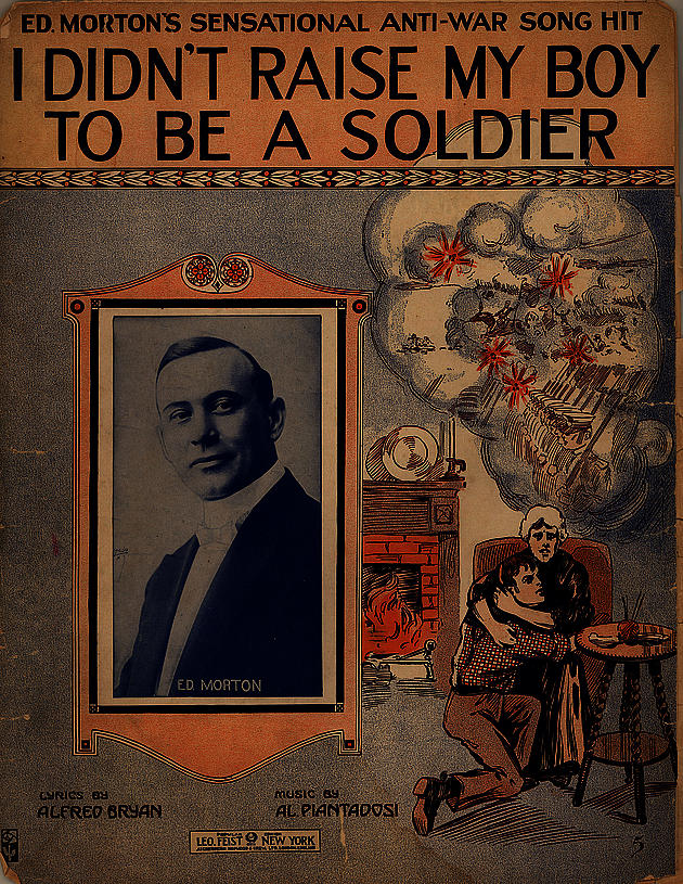 1915 Anti-War song poster