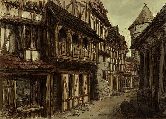 medieval towns Most people in medieval england lived off the land there were cities of course, but these were far less populous than today for example winchester had a population.