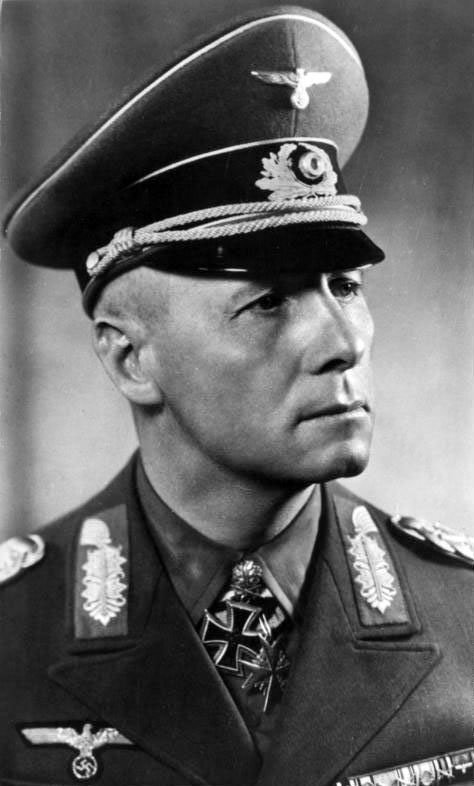 Erwin Rommel, the 'Desert Fox', a key figure during the war in North Africa