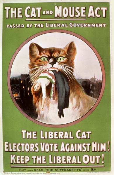 Cat and Mouse Act Poster 1914
