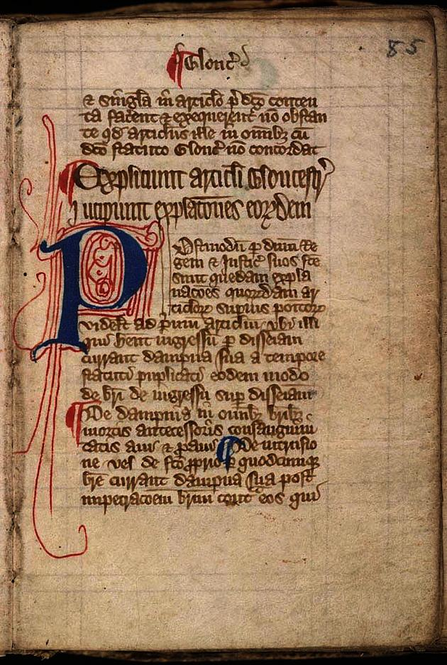 Magna carta cum statutis angliae (Great Charter with English Statutes) early 14th-century