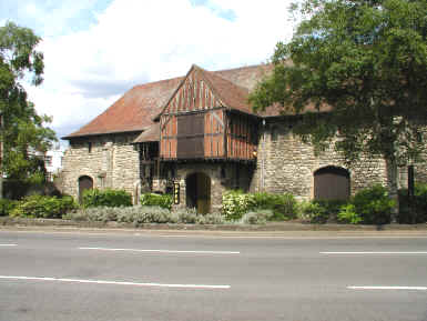 Now a museum, this building was once a tithe barn serving Maidstone, Kent
