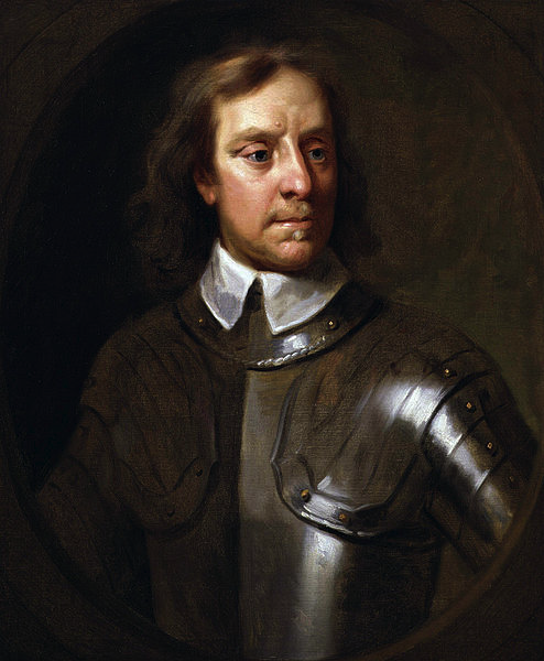 Oliver Cromwell, painted by Samuel Cooper, 1656