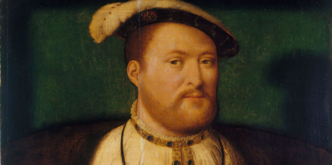 A portrait of Henry VIII - looking relatively sane