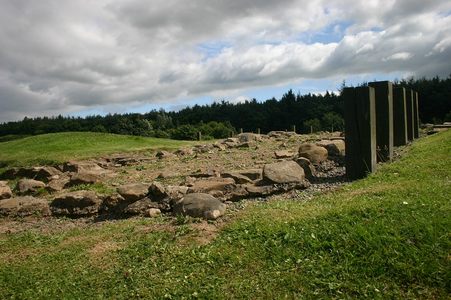 Today, the remains of Antonine Wall