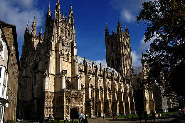Canterbury Cathedral by Julian P Guffogg]