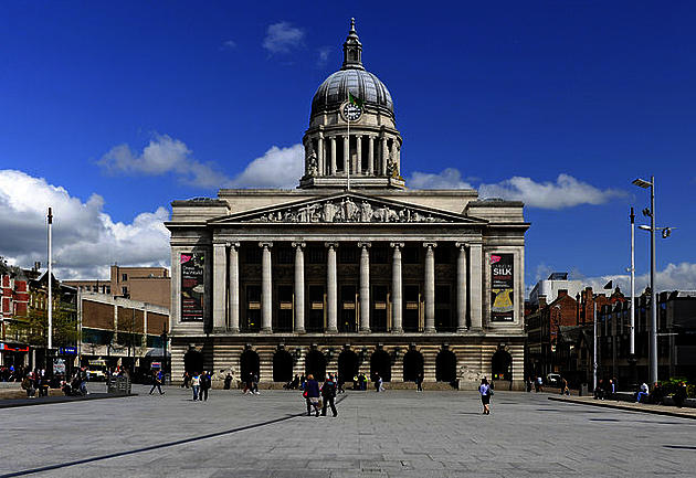 Nottingham Council house by Peter Tarleton