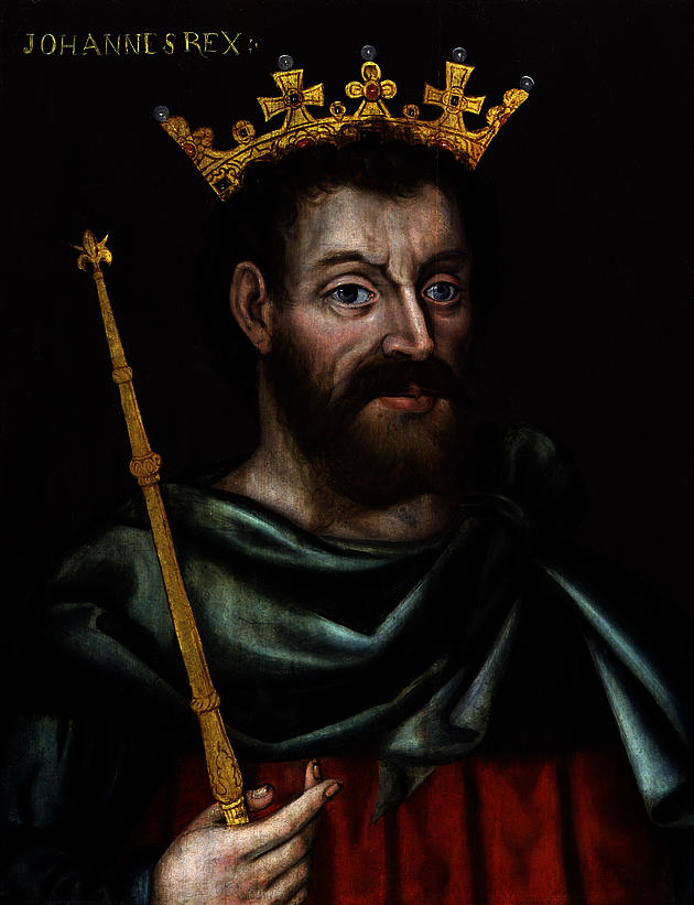 King John portrait from the National Portrait Gallery