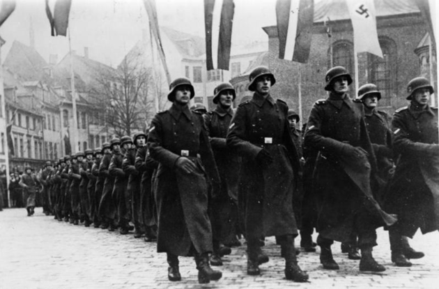 Latvian SS legion, 1943, German Federal Archives