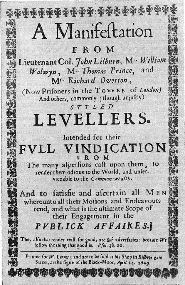 Levellers Manifest