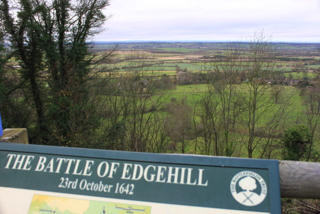 Roger Davies, The site of the Battle of Edgehill, Warwickshire