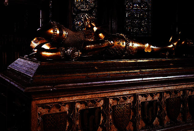 Tomb of Edward the Black Prince at Canterbury Cathedral