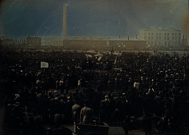 [Great Chartist Meeting on Kennington Common