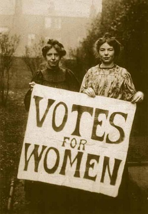 Women Suffragettes