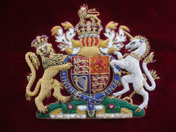 Coat of Arms British Royal Family