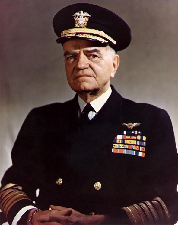 Admiral William Frederick Halsey
